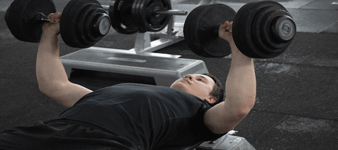 DB Bench press