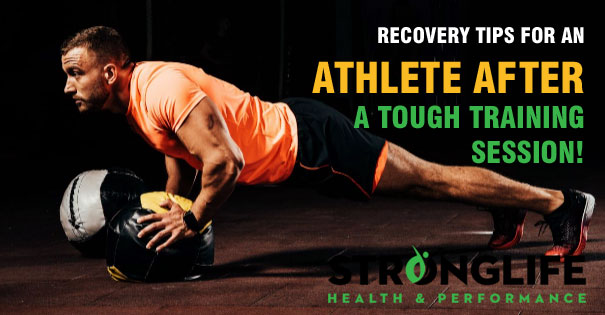 Key Recovery Tips For An Athlete After A Tough Training Session